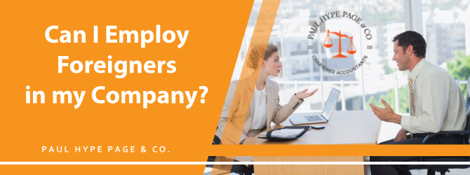 Employ Foreigners in Company