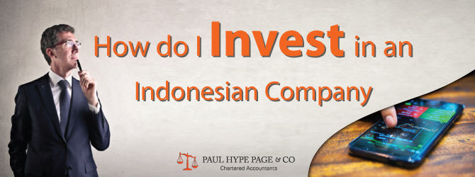 How do Invest in an Indonesian Company