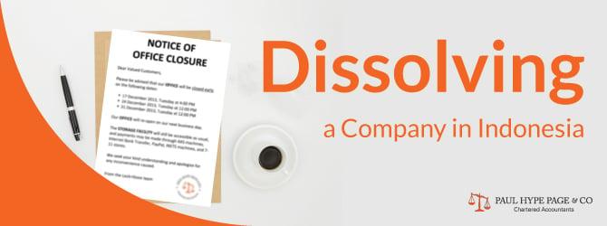 Dissolve Company