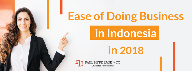 Ease of Doing Business in ID in 2018
