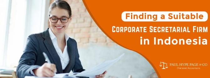 Corporate Secretarial Firm in ID