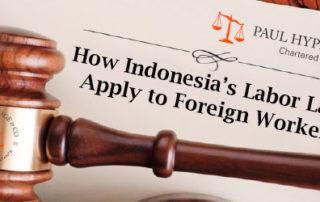 Indonesia's Labor Laws