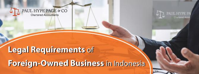 PT PMA Legal Requirements