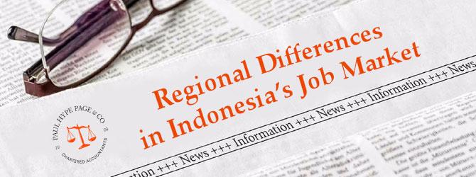 Regional Job Market Differences